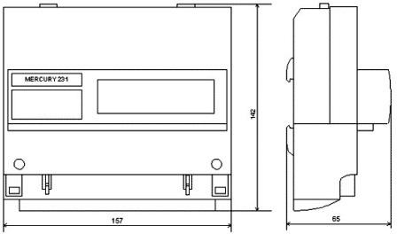 Купить электросчетчик Меркурий 231 АT-01I трехфазный многотарифный