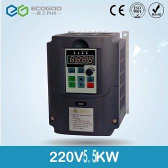 Однофазный частотный преобразователь 220-4kw